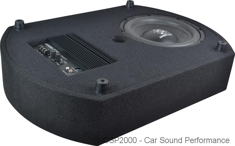 ground zero cs10sub act reserverad subwoofer bei csp car. Black Bedroom Furniture Sets. Home Design Ideas
