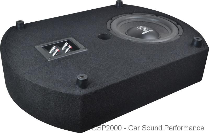 ground zero cs10sub act reserverad subwoofer bei csp car. Black Bedroom Furniture Sets. Home Design Ideas